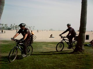 The Cops in Venice Beach