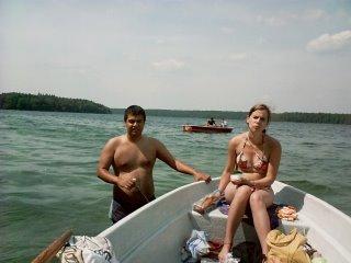 En las aguas del Stechlinsee