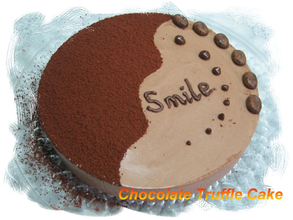 Chocolate Truffle Cake Images : E-Cake Gallery: Chocolate Truffle Cake