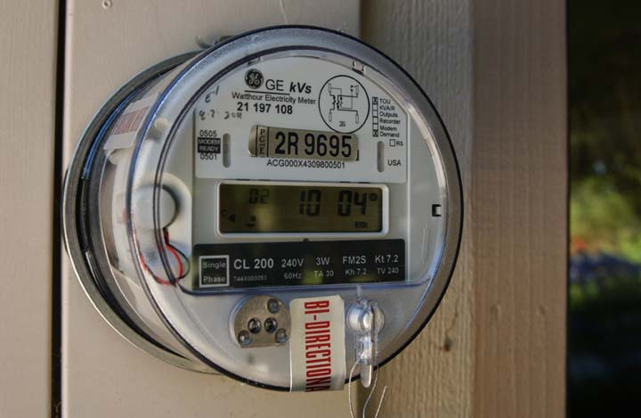 Electric Meter Number : Solar savvy net metering how con ed will pay you to go