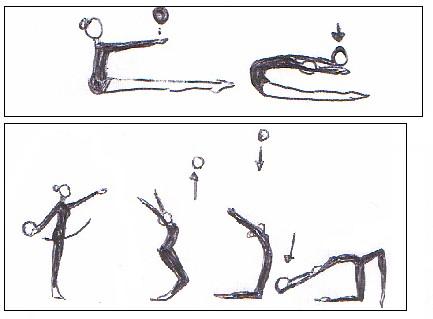 Gimnasia r tmica mtc ejercicios con bal n for Ejercicios de gimnasia