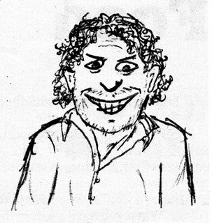 Marco Pierre White as Oh Dae-Su (drawing)