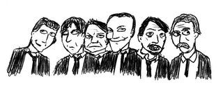 Reservoir Dogs, only without Nice Guy Eddie because he lowers the tone with his rubbish tracksuit thing.