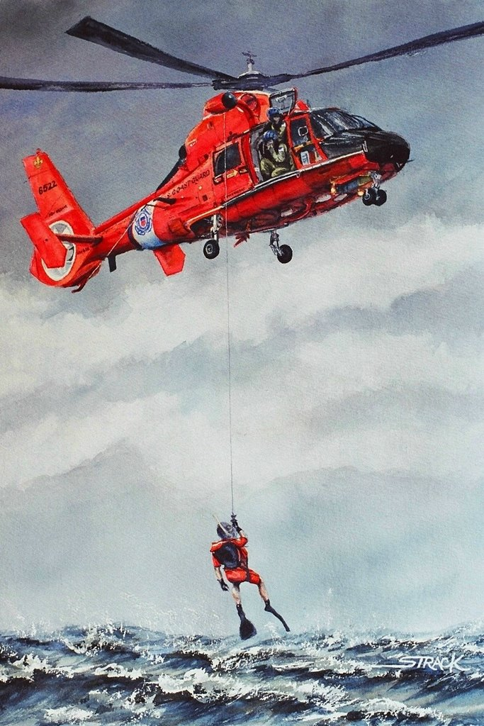 united states coast guard rescue swimmers