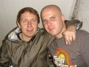 Gilles Peterson and Stevie G