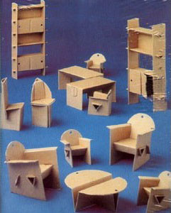 How To Make Doll Furniture Out Of Cardboard