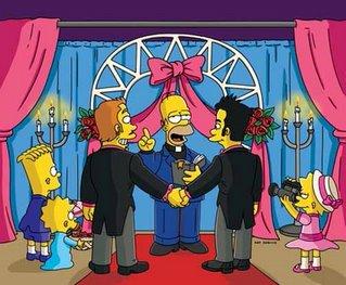Homer Simpson as Episcopal Priest