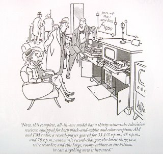 New Yorker Artoon by Pierce for 1950