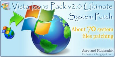Vista Icons Pack v2.0 Ultimate - System Patch