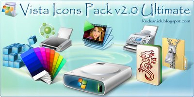 Vista Icons Pack v2.0 Ultimate