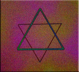 Harmony of the Triangles Hexagram