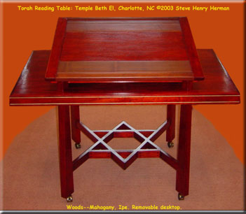 Torah Reading Tables magen David