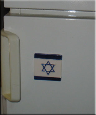 Fridge Magnet magen david