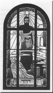 magen David Theodor Herzl Window Design