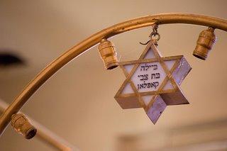Memory Plate Jewish Star