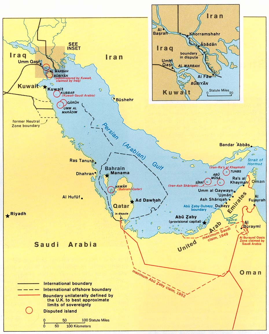 EagleSpeak: A warning for the Northern Arabian/Persian* Gulf