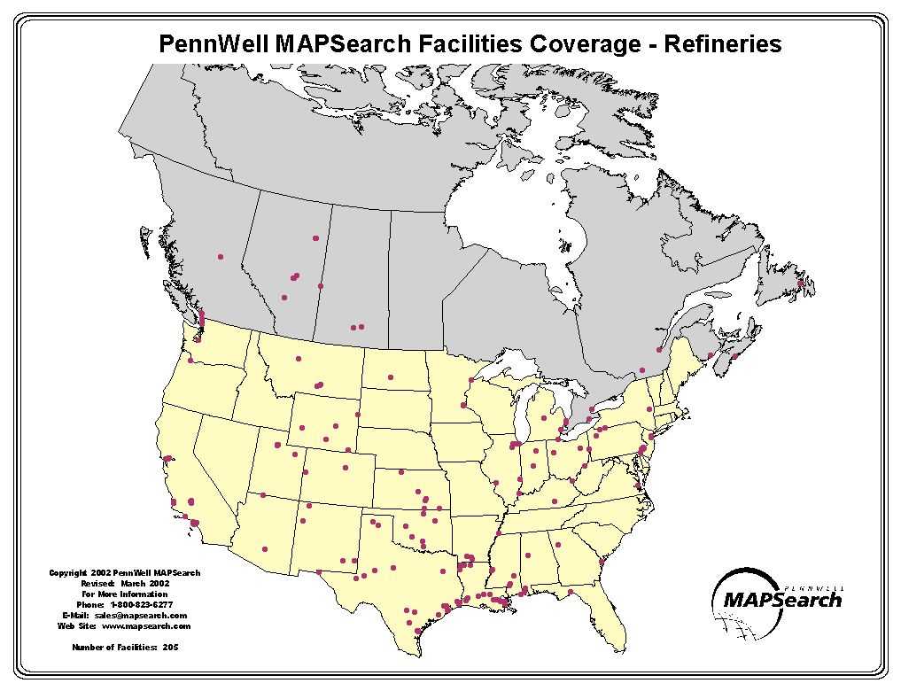 EagleSpeak New Oil Refineries Plannedbut They Are Overseas - Us refinery map