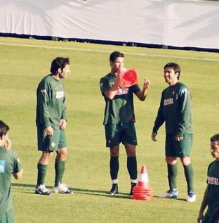 Spaß mit Ronaldo