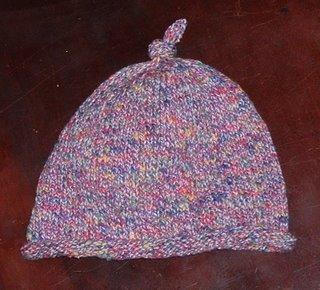 candy yarn hat