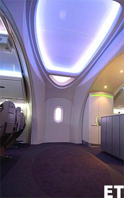 Boeing 787 Entryway