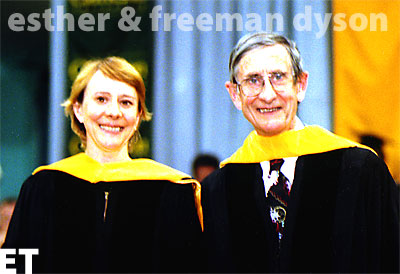 Esther and Freeman Dyson
