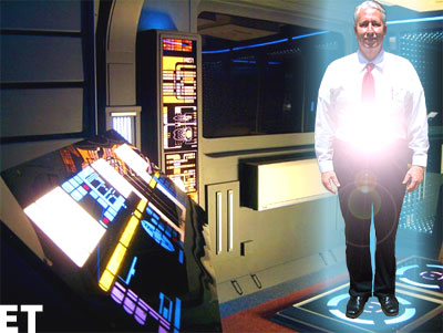 Dan Lelevier: Beam me up Scotty!