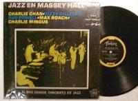 Vinilo de 'Jazz en Massey Hall' en su edición argentina