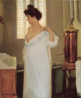 'Abans del bany' de Ramón Casas