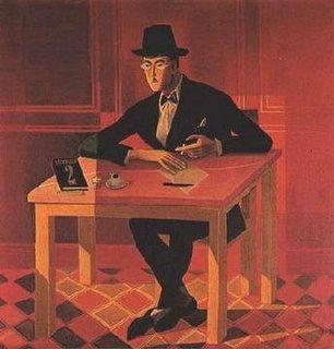 'Retrato do poeta Fernando Pessoa' de Negreiros