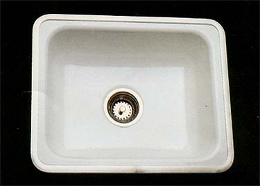 its mac to the rescue again with some nice choices of cast iron porcelain enameled sinks for the kitchen the first two sinks pictured are both from mac - Retro Kitchen Sink