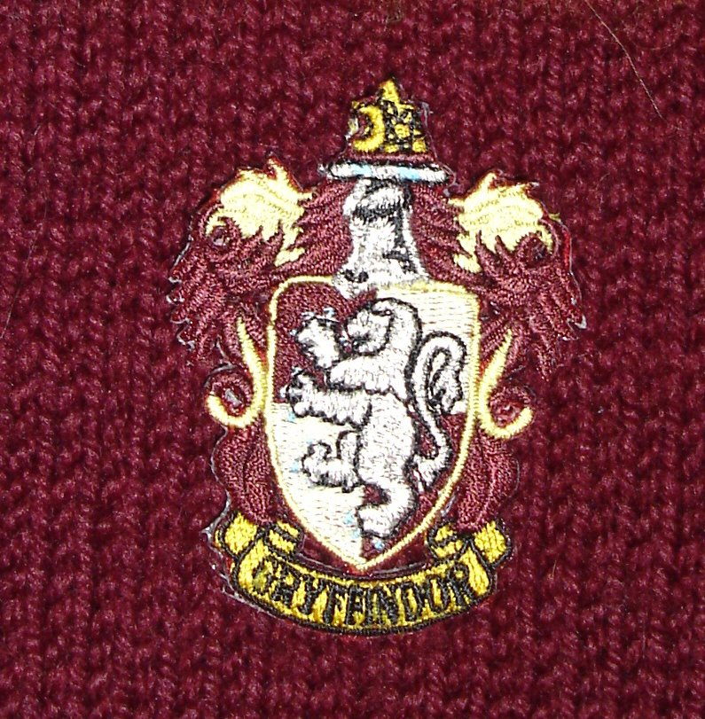 Knit Whimsies: Gryffindor Scarf