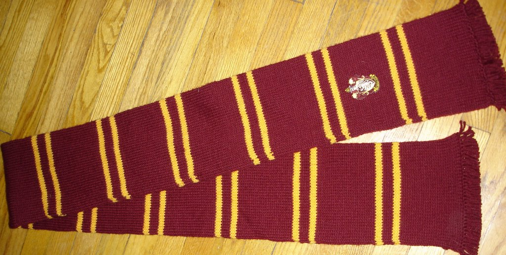 Knitting Pattern For Gryffindor Scarf : Knit Whimsies: Gryffindor Scarf