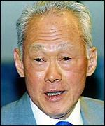Senior Minister Lee Kuan Yew