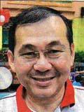 Grassroots leader Sunny Leow
