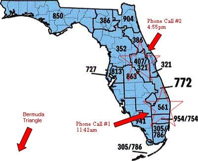Area Code Map Of Florida Find Map Of Florida Telephone Area Code - Area code 772