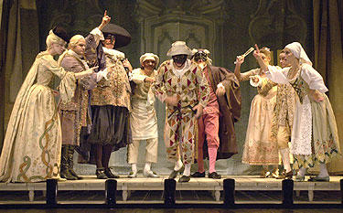 """servant of two masters play review """"the servant of two masters"""" is goldoni's 18th-century love letter to such comic forebears and wily commedia experts steven epp and."""
