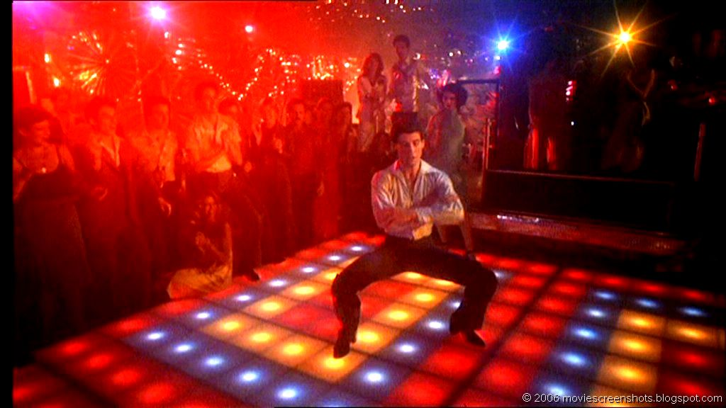 Vagebond 39 s movie screenshots saturday night fever 1977 for 1980 floor show dvd