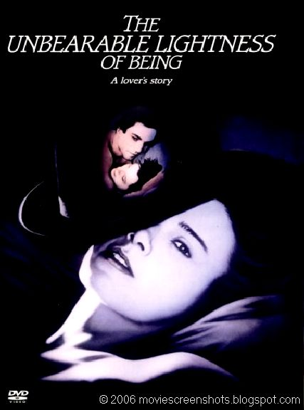 a film analysis of unbearable lightness of being by phillip kaufman The art of being home all the unbearable lightness of being was an instant hit with critics and audiences around the a film by philip kaufman 1988 return.