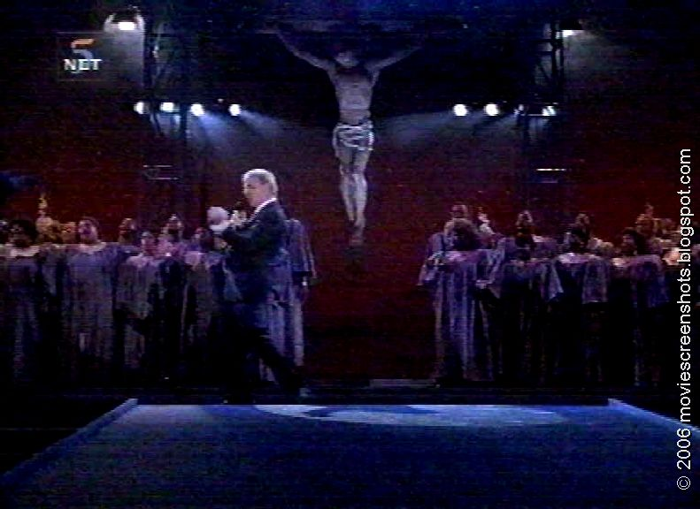 an analysis of the movie leap of faith from 1992 The tale of rev jonas nightengale, a devilish con man in the business of selling salvation and faith healing who performs a real miracle, much to his surprise.