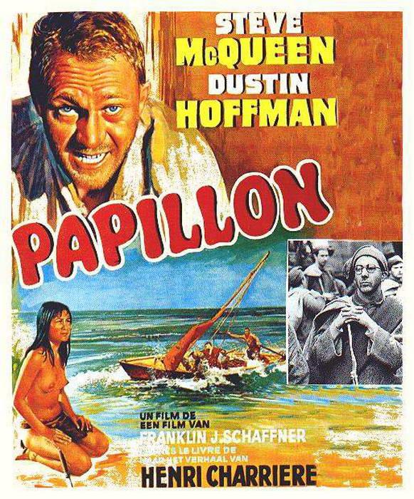 Vagebond's Movie ScreenShots: Papillon (1973)