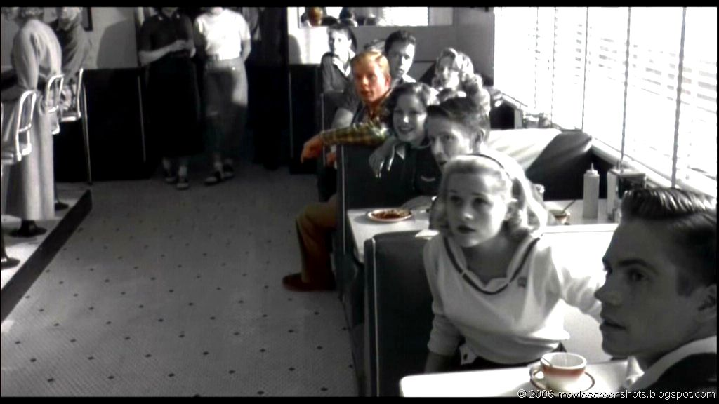 pleasant ville essay Myth america: east of pleasantville september 18, 2001 sometimes a movie  comes along that perfectly captures the zeitgeist — that practically cans it and.