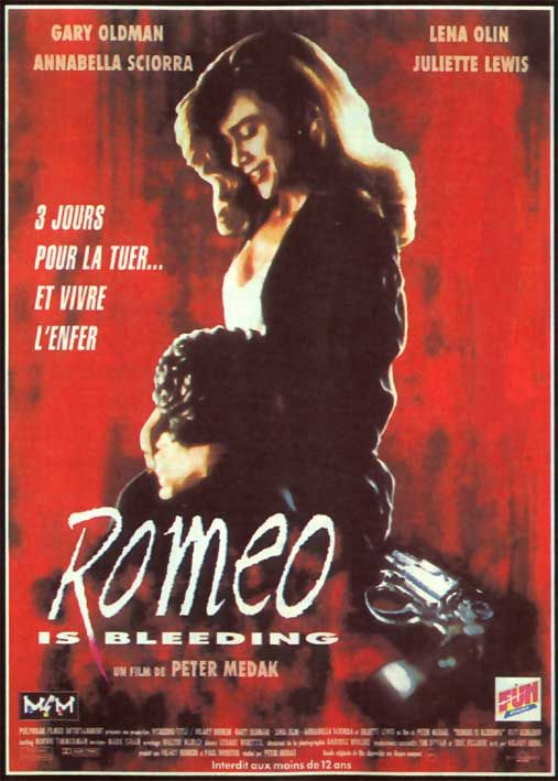 Vagebond's Movie ScreenShots: Romeo Is Bleeding (1993)