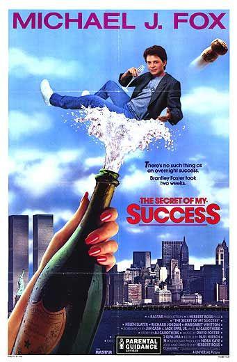 The secret of my success scene
