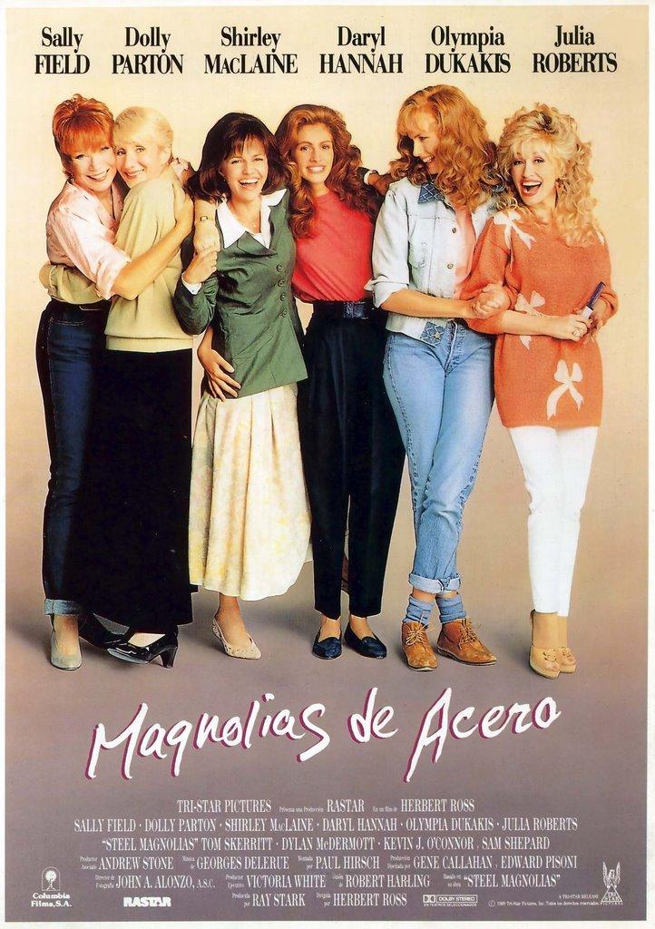 steel magnolias movie Steel magnolias is essentially a series of comic one-liners leading up to a teary tragedy, but let it be said that the one-liners are mostly funny and the tragedy deserves most, but not all, of the tears.