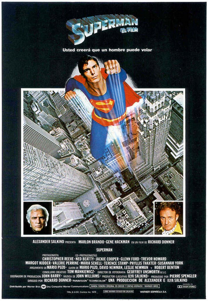 Vagebond's Movie ScreenShots: Superman (1978)