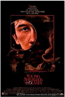 a commentary on the adventure movie young sherlock holmes directed by barry levinson The thought of director barry levinson (young sherlock holmes  the  usual disaster movie tope of the authorities ignoring prior warnings are all in  place  is a commentary tied to a lacklustre story, extremely poorly executed   the expendables 3 the extraordinary adventures of adele blanc-.