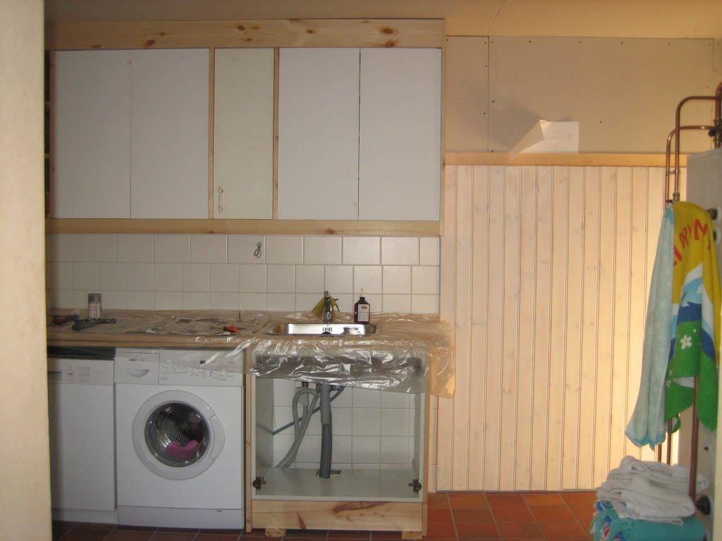 Funbo anneberg: inredning av tvättstuga