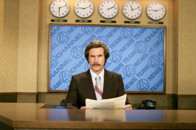 Will is the anchorman of comedy