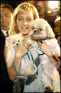 Nicole Richie and her audience