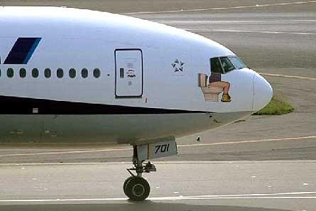 die luftfahrt bemalung ana boeing 777 zeigt pilot auf. Black Bedroom Furniture Sets. Home Design Ideas